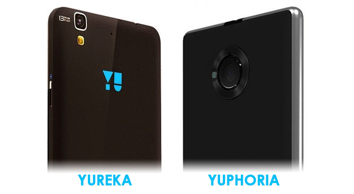 yureka camera vs yuphoria camera