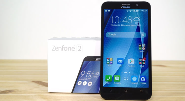 asus zenfone 2 display