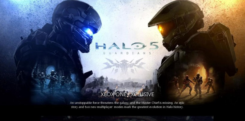 PREBOOK YOUR XBOX ONE HALO 5: GUARDIANS BUNDLE RIGHT AWAY!