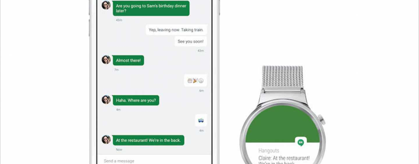 Apple – Android Watches Unite Much to the User's Delight
