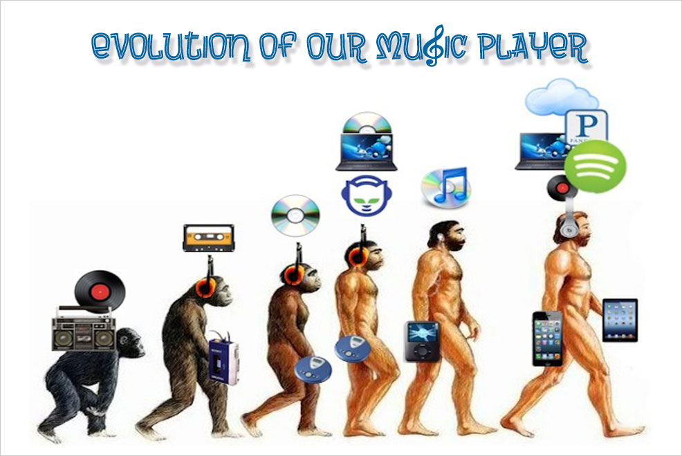 evolution of music player