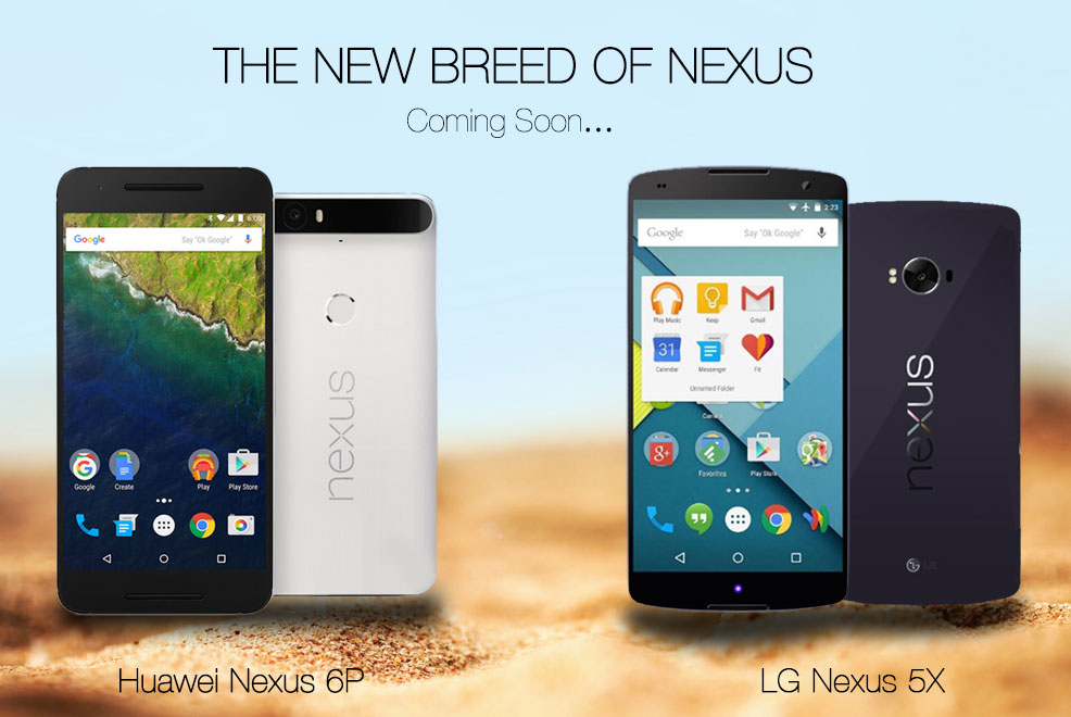 Google Nexus 5X and 6P, Specifications & Features ...
