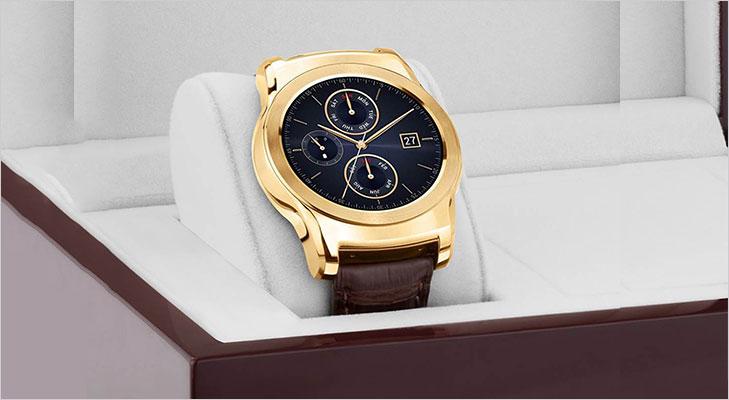 LG unveils 23 Karat Gold Watch