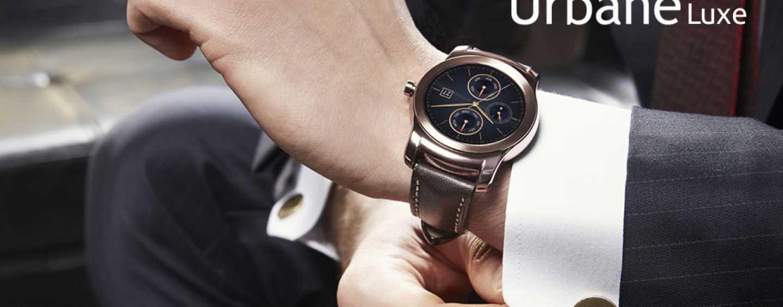 LG Strikes Gold – Unveils Its New 23 Karat Gold Watch 'Urbane Luxe'
