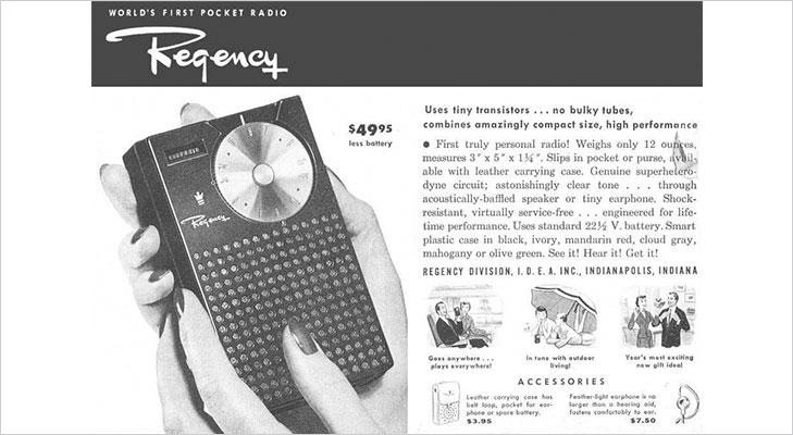 regency first pocket radio
