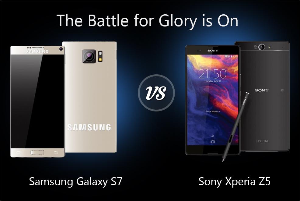 Sony xperia z5 vs samsung galaxy s7