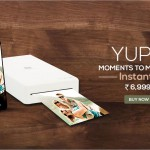 Now carry a printer in your pocket – YUPIX pocket photo printer