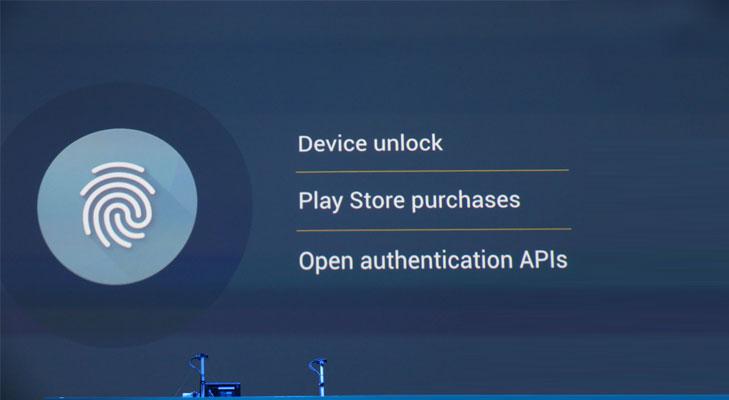 android fingerprint sensors