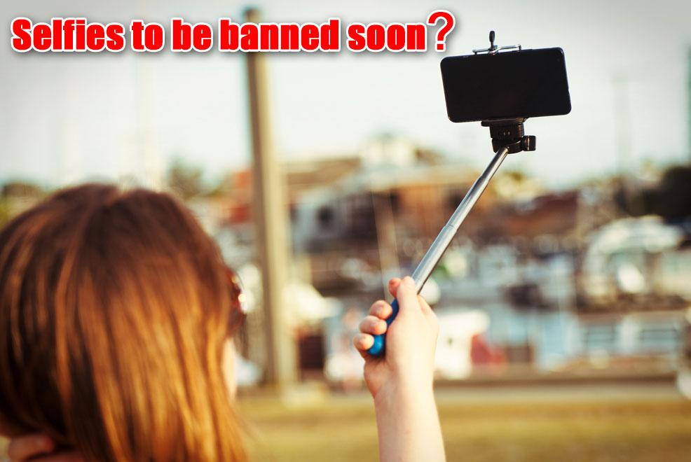 ban on selfies