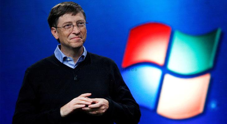 Bill Gates founder of Microsoft