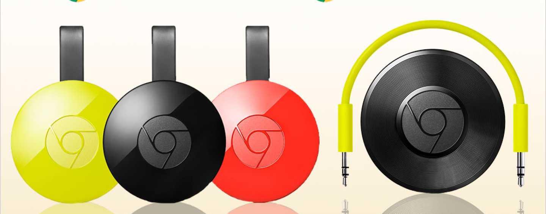Make your TV and audio device smarter with Chromecast 2 and Chromecast Audio