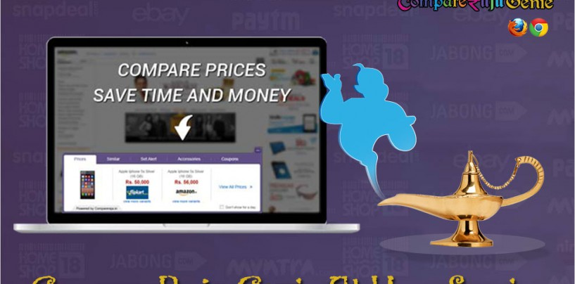 COMPARERAJA 'GENIE' AT YOUR SERVICE – COMPARE AND SAVE MONEY!