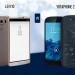 LG V10 vs Yotaphone 2