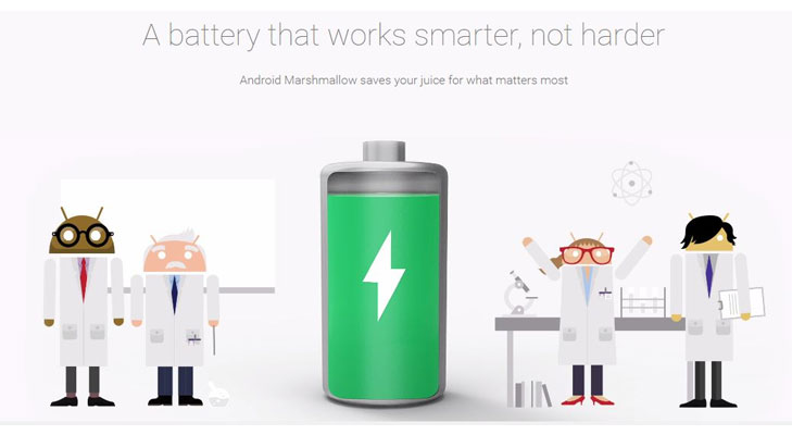 marshmallow standby battery