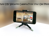 Make DIY Security Camera From Your Old Phone!