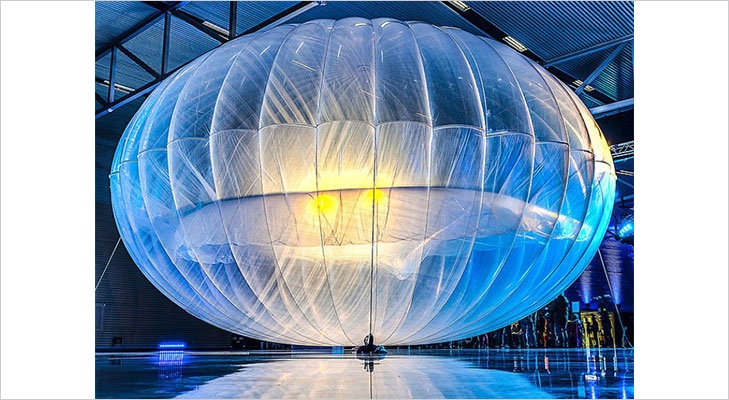 google loon launch event