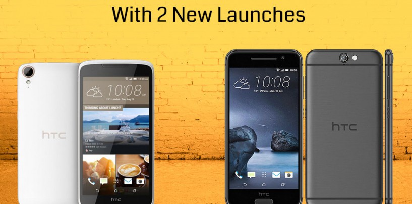HTC Hits Back The Rivals With Two New Launches – HTC One A9, Desire 828 Dual SIM