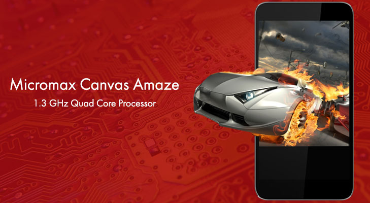 micromax canvas blaze processor