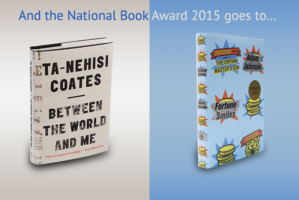 Do you have these National Book Award 2015 winning books on your bookshelf?