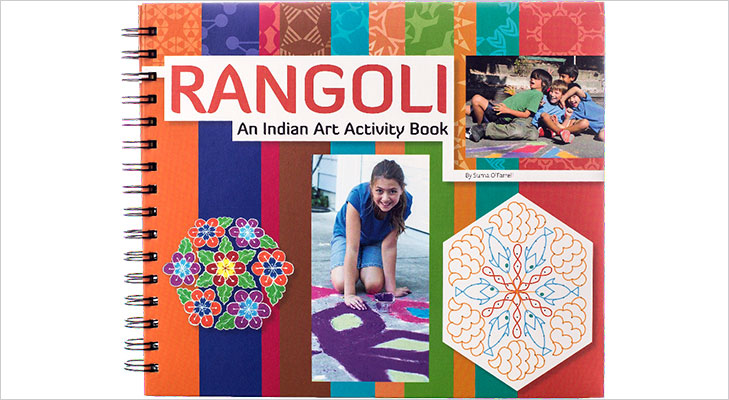 rangoli an indian art activity book