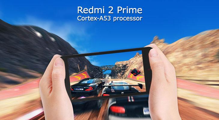 redmi 2 prime processor