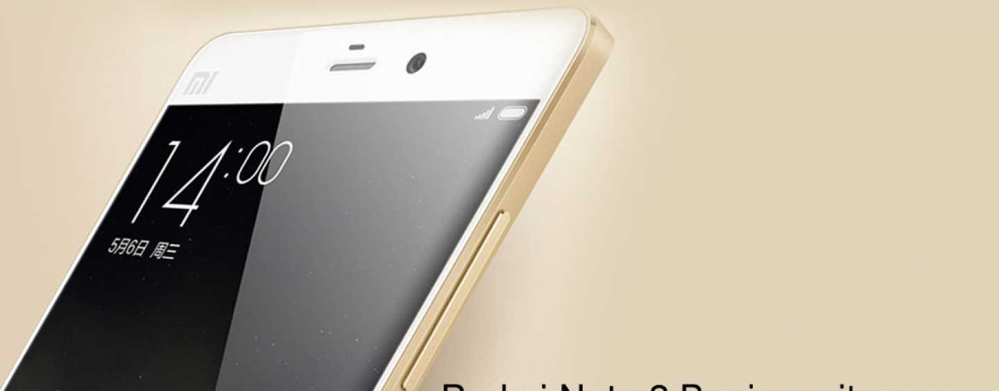 Xiaomi Note 2 Pro Mightier Than Its Predecessor With Finger Print Sensor