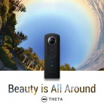 Get A 360° Picture With Ricoh's Theta S Camera!