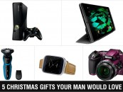 5 Christmas Gifts Your Man Would Love