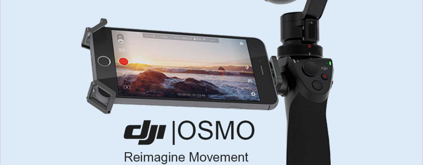 DJI Osmo 4K Handheld Camera For Photography Enthusiast In You!