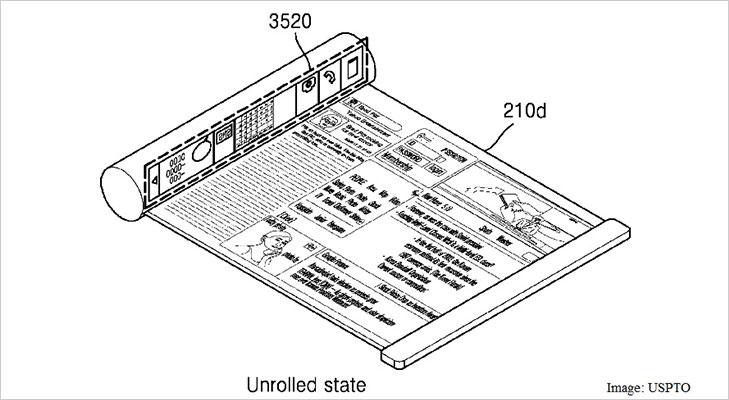 flexible display patent samsung