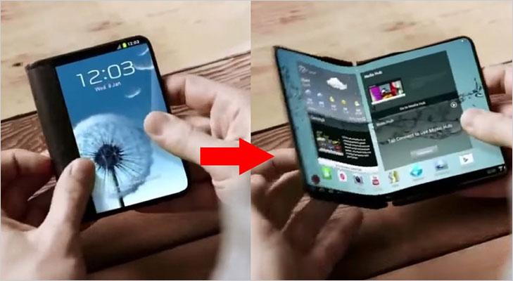 foldable display phone