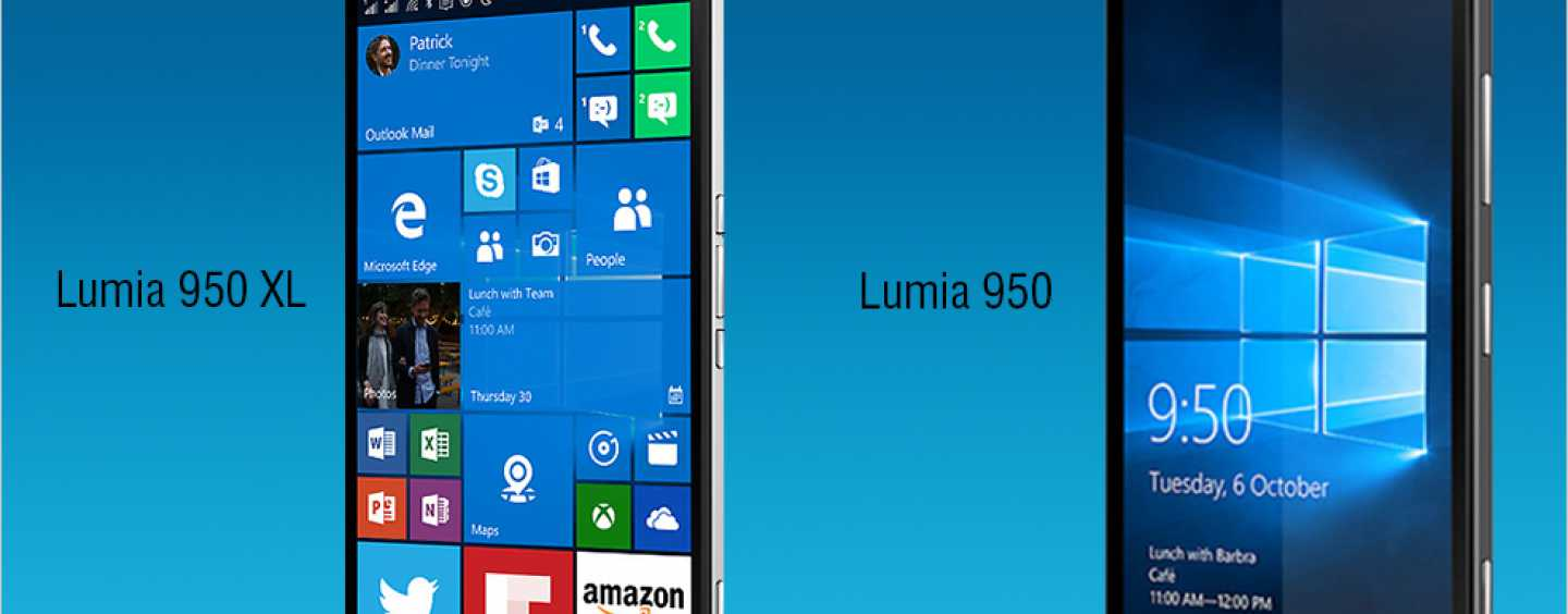 Microsoft Opens Its Windows For Newer Smartphones – Lumia 950 And 950 XL