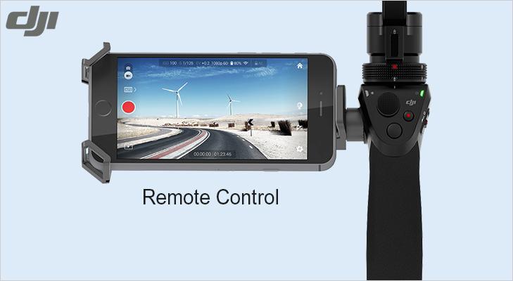 osmo remote control