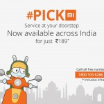 Treat yourself to the Royal Xiaomi's Mi Pickmi Service