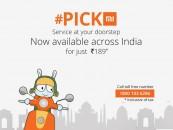 Treat yourself to the Royal Xiaomi's Mi Pickmi Service