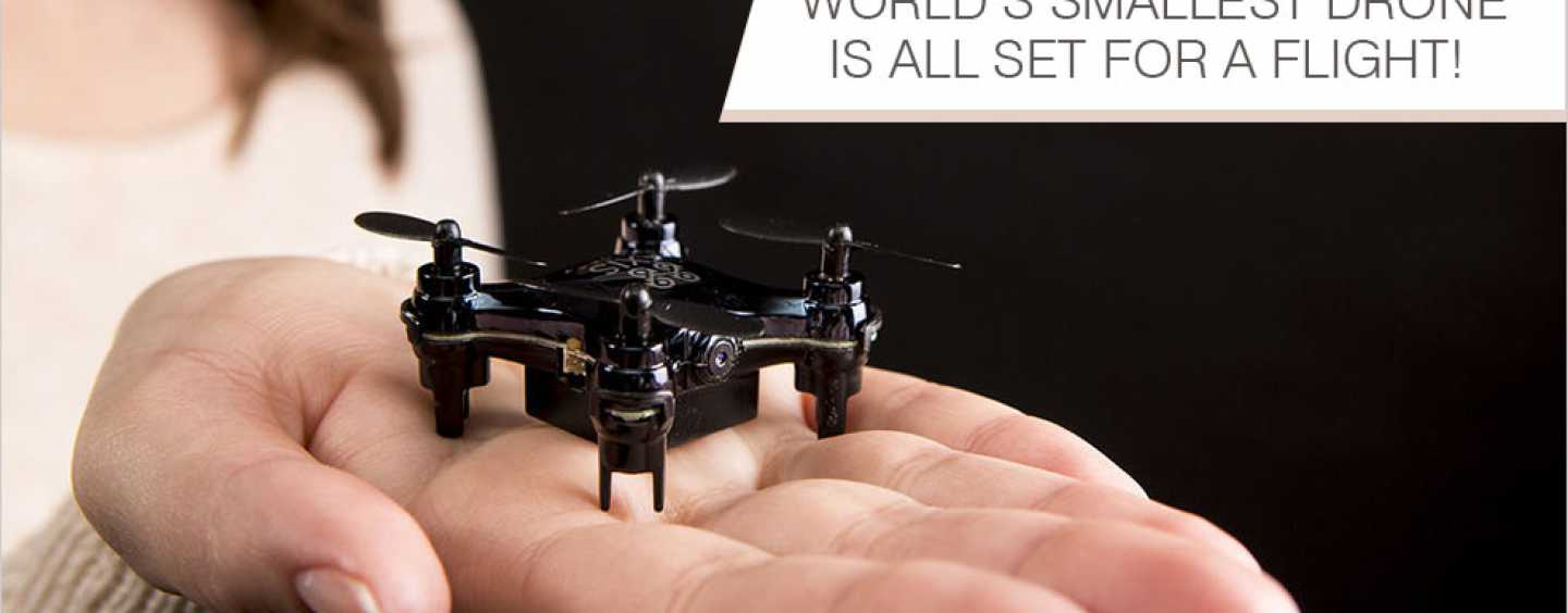 Worlds Smallest Drone Camera Axis Vidius