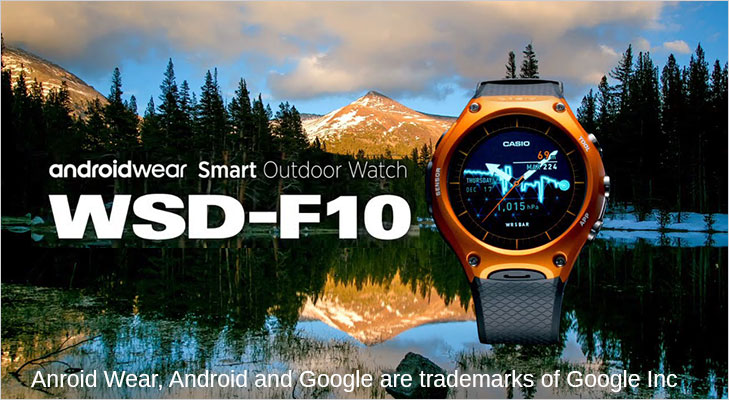 casio wsd f10 android wear outdoor smartwatch