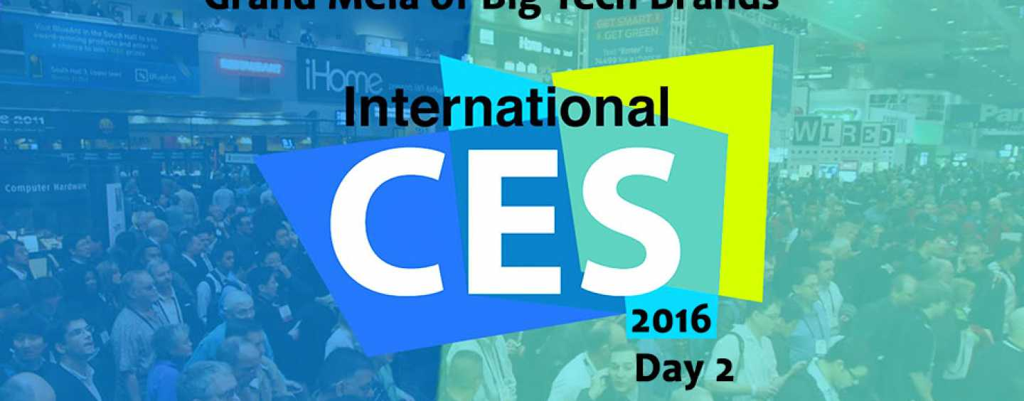 """CES 2016 DAY 2: Now you can """"TRACK"""" your smartphone and carry you TV around!"""
