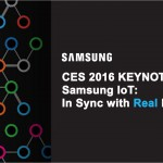 SAMSUNG HOGS THE LIMELIGHT AT THE CES 2016 EVENT