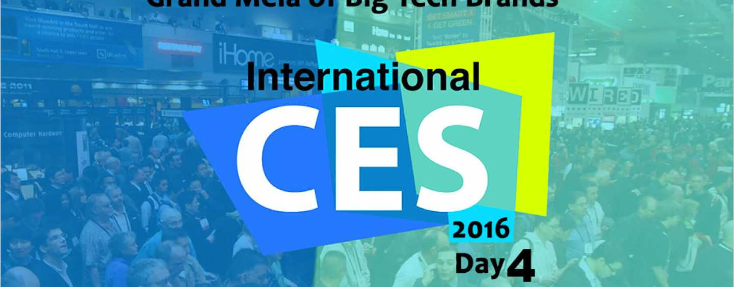 BEST OF CES 2016 Day 4: VIRTUAL REALITY GALORE!