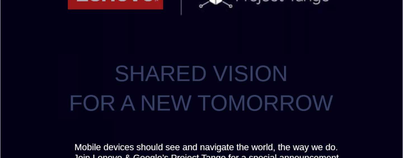 Google – Lenovo Team-up for a 'Tango'!