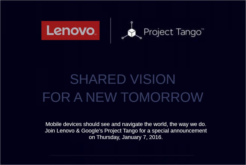 google lenovo project tango