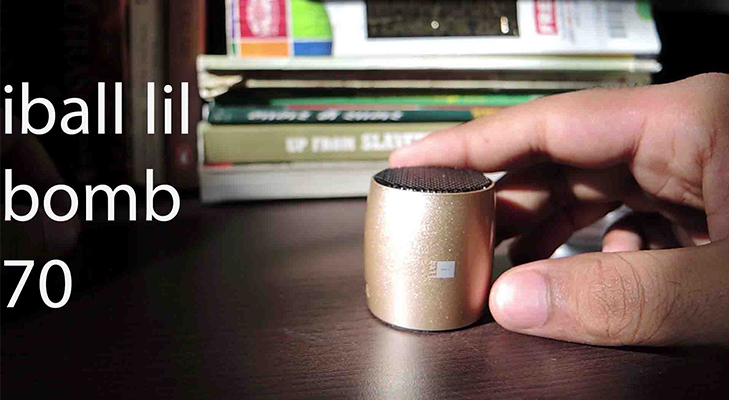 Iball lil bomb 70 ultra portable bluetooth speaker