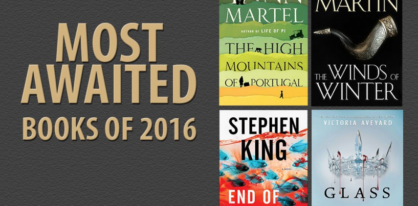 Book Nerds, have you penned down these books in your 2016 TBR list?