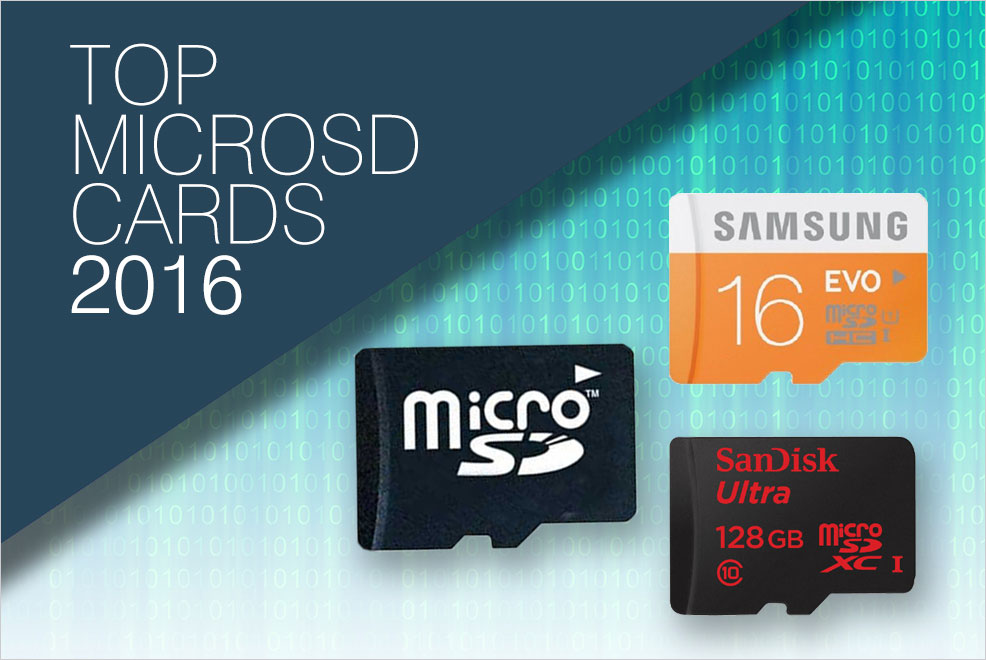 Top 6 MicroSD Cards 2016