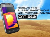 BAG THIS CAT FOR ITS THERMAL CAMERA AND RUGGED SPECS FOR 40K!
