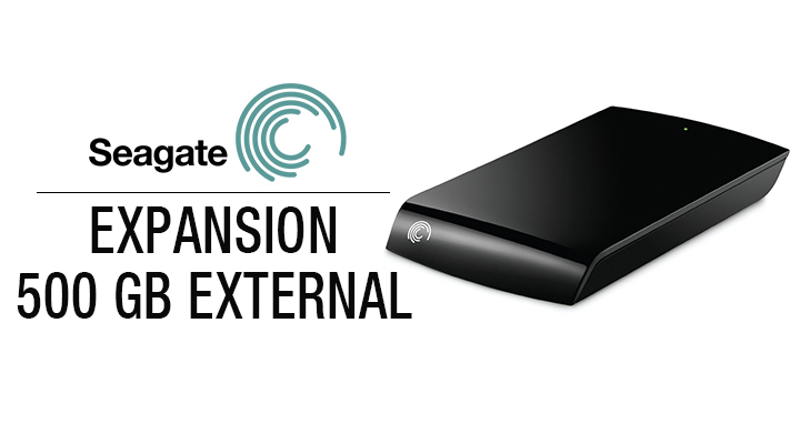 Seagate Expansion 500 GB External Hard Disk