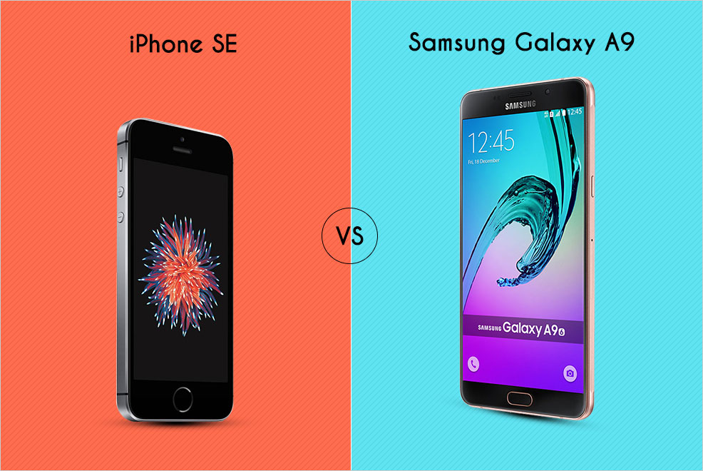 what s better galaxy or iphone samsung galaxy a9 vs iphone se versus by compareraja 18222