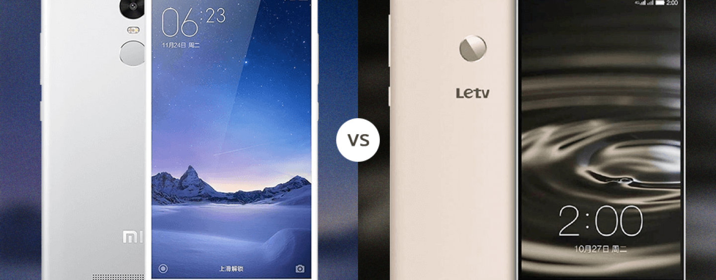 Xiaomi Redmi Note 3 or the Le 1s? Who wins?