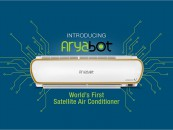 MEET THE WORLD'S FIRST SATELLITE AC – ARYABOT!